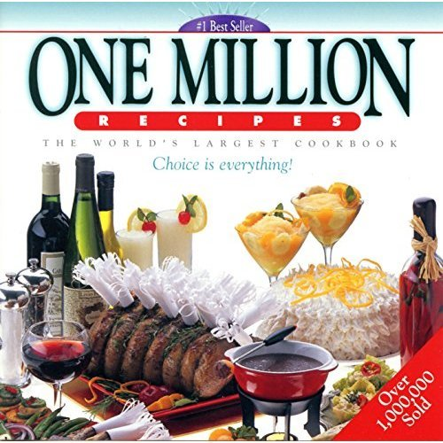 One Million Recipes The World's Largest Cookbook Silver Edition CD-Rom