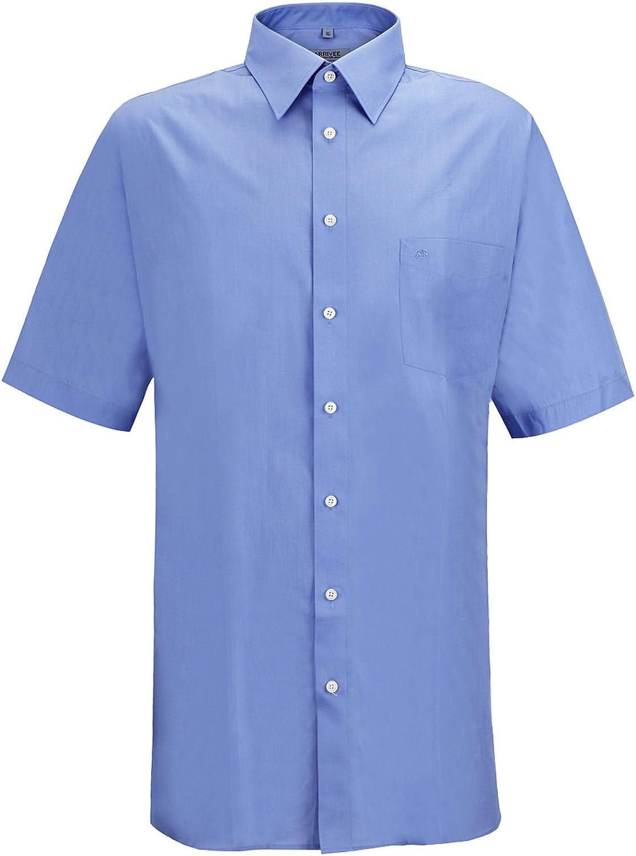 JP 1880 Homme Grandes Tailles Chemise /à Manches Courtes Unie 713990