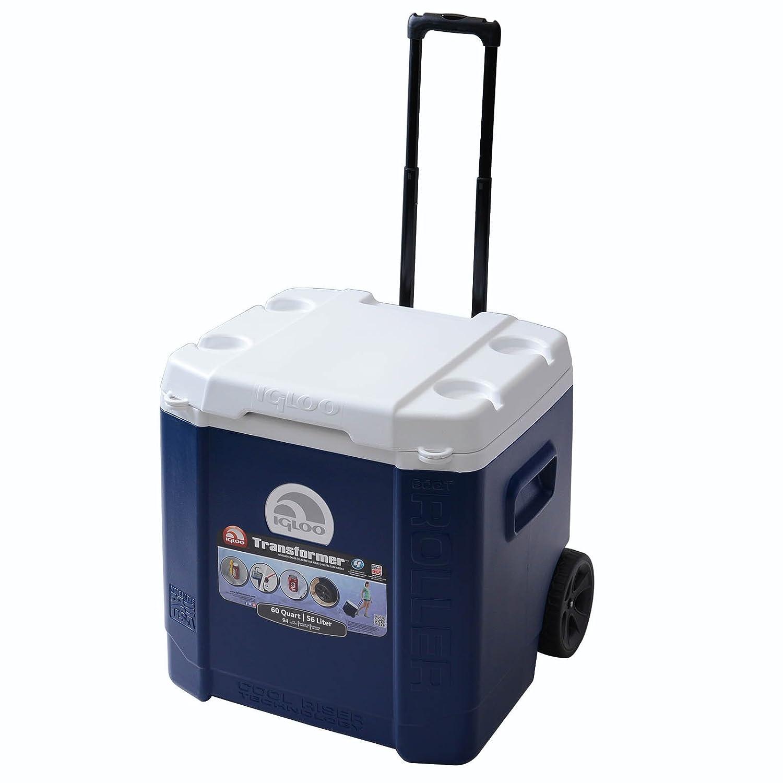 Igloo Transformer 60 Roller Kühlbox Blau Unisex Erwachsene, Blau Kühlbox 0db860