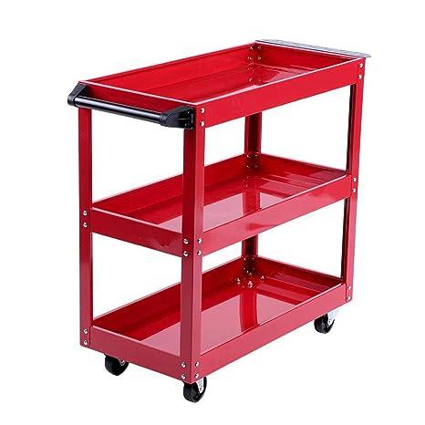 Amazon.com: Carrito de herramientas con 3 estantes de ...