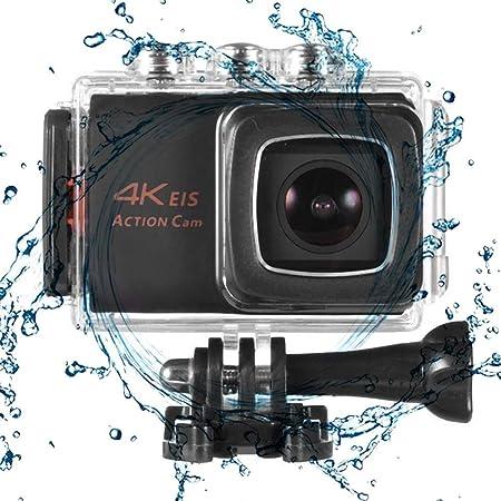 Cámara Deportiva, Mini cámara de acción 4K + ESI Cámara ...