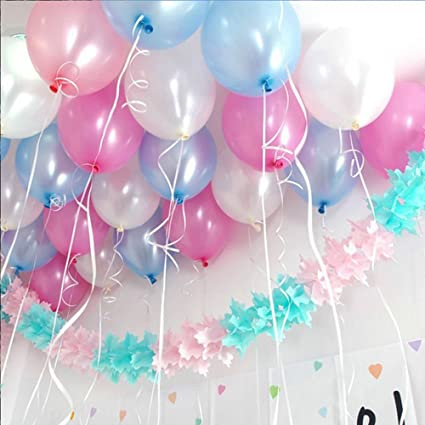 TOYXE 40024 Toy Balloons For Birthday Anniversary Baby Shower Office Party Decoration Metallic