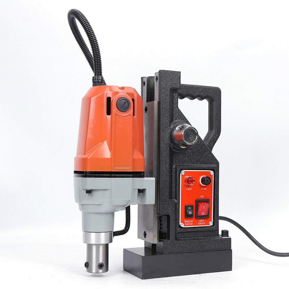 1100W Metal Electric Magnetic Drill Press Drills 7 pcs Set Magnet Force Z3040