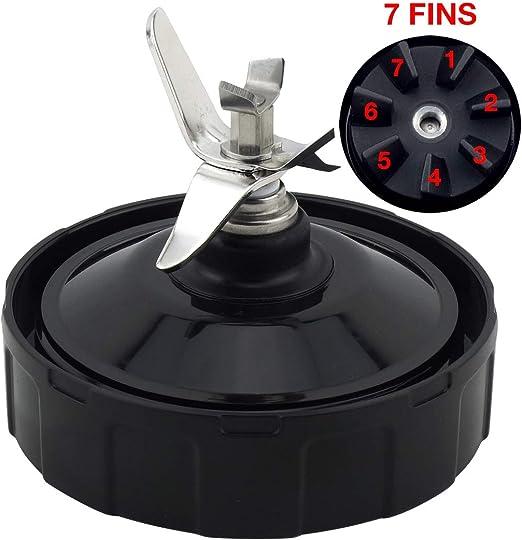 Felji Pro Extractor Blade Replacement Part 431KKU480 for Nutri Ninja Auto-iQ BL480-30 BL681A-30 BL682 BL640 (7 fins)
