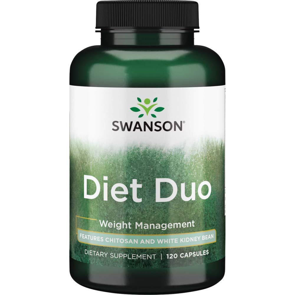 Swanson Diet Duo with White Kidney Bean 120 Capsules