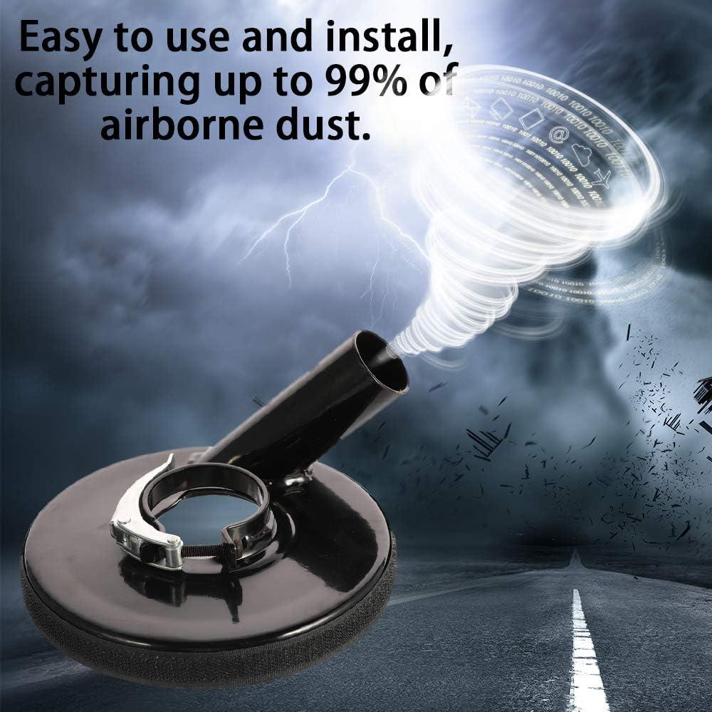 Ajcoflt Amoladora de /ángulo Cubierta de polvo M/áquina de pulir en seco Accesorios de la herramienta el/éctrica de la cubierta de polvo