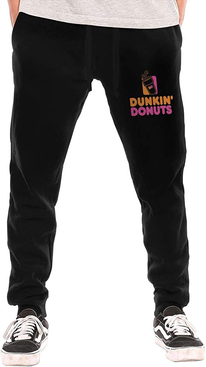 Donuts Art Mens Autumn Winter Long Trousers Daily Track Trousers