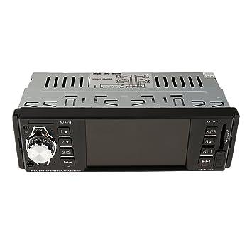 P Prettyia Coche Radio FM MP5 Audio Video HD Reproductor Manos Libres Pantalla LCD: Amazon.es: Electrónica