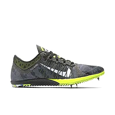 Nike Zoom Victory XC Cross Country Distance Spikes Shoes Mens Size 6  (Black, Grey