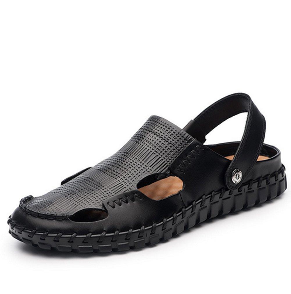 Sandalias De Verano para Hombre,Suela Blanda Playa Zapatos Sandalias Antideslizantes De Baotou Longitud del pie=23.8CM(9.4Inch)|A