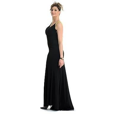 026a20f8934 Elsa Mars -  quot Tais quot  - Robe Longue De Soirée Avec Manches Façon  Maille