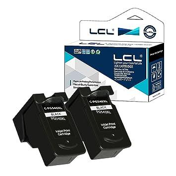 LCL PG540 PG-540 PG540XL PG-540XL (2-Pack Negro) Cartuchos de ...