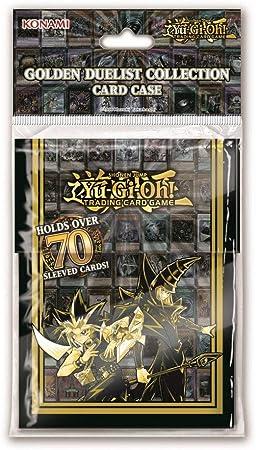 Yu-Gi-Oh! KONGDCC - Caja para Tarjetas de duelista Dorado: Amazon.es: Juguetes y juegos