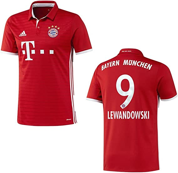 Bayern Camiseta Home Niños 2016/2017 – Lewandowski 9 Talla:176 ...