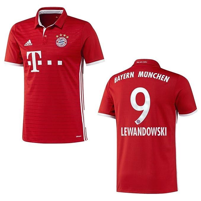 Bayern Camiseta Home Niños 2016/2017 – Lewandowski 9 Talla:140 ...