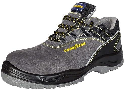 GoodYear - Zapatos de seguridad 106 S1P, gris