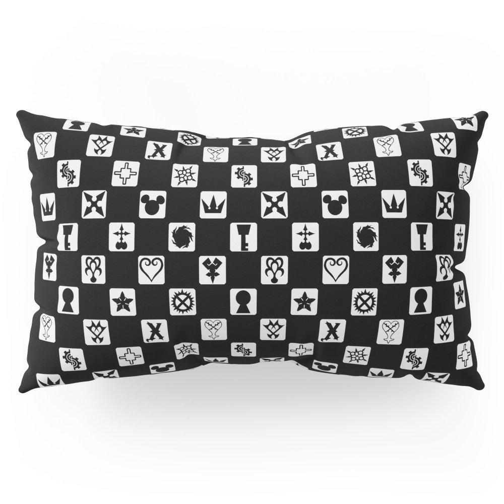 Society6 Kingdom Hearts Grid Pillow Sham King (20'' x 36'') Set of 2