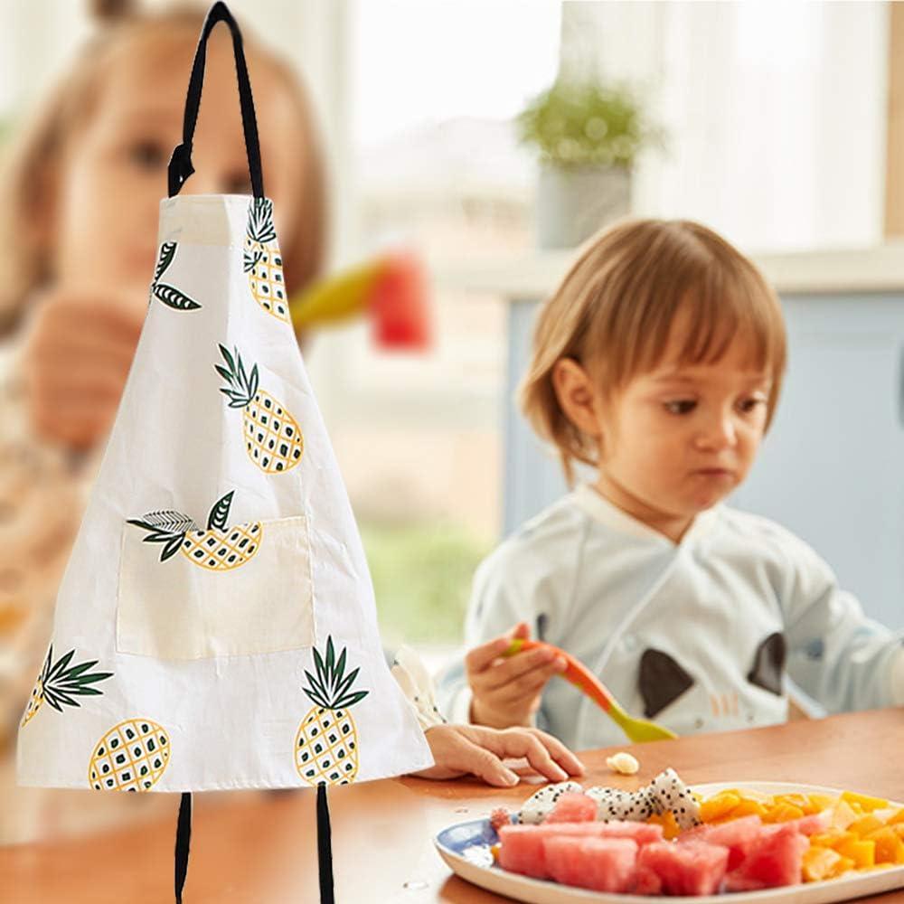 Small Cooking Baking Crafting Art Gardening Little Helper Apron for Children Kids