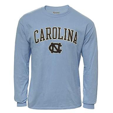 302ea915 Champion Men's Carolina Blue North Carolina Tar Heels Long Sleeve T-Shirt  UNC (Small