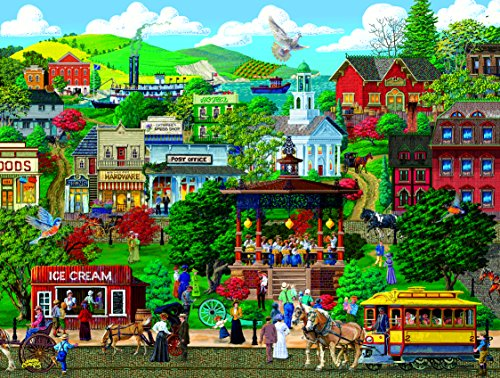 Town Square Festival 300 Piece Jigsaw Puzzle by SunsOut