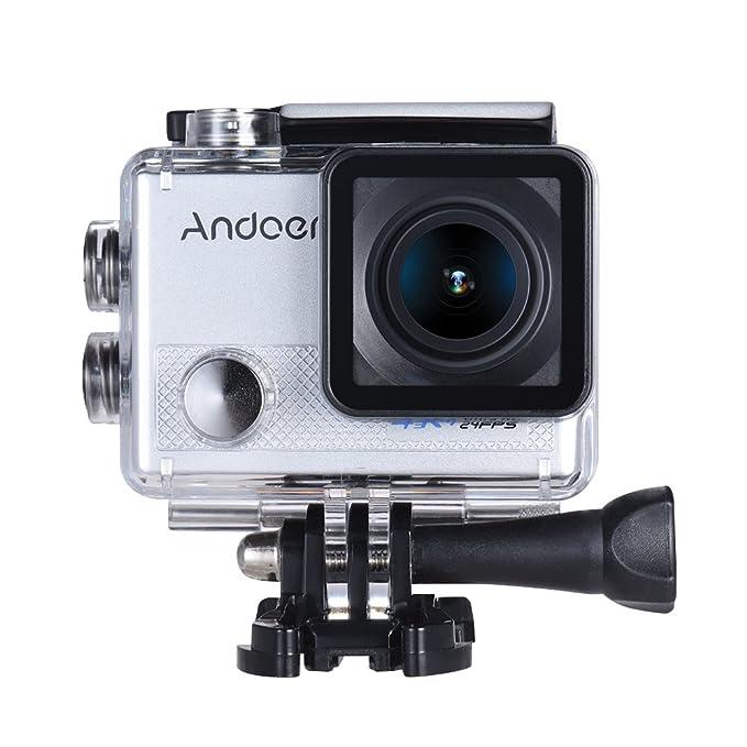 1 opinioni per Andoer AN5000 4K 24fps WIFI Sports Action Camera 20MP 1080P 60fps giroscopio