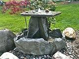 Garden Fountain, Cast Stone, Rock Falls