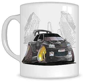 Regalos de Koolart k2738-mg dibujos animados de Renault DIMMA Clio Tuning – Caricatura regalo