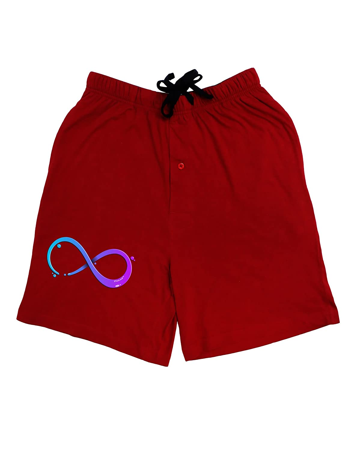 TooLoud Painted Infinity Adult Lounge Shorts