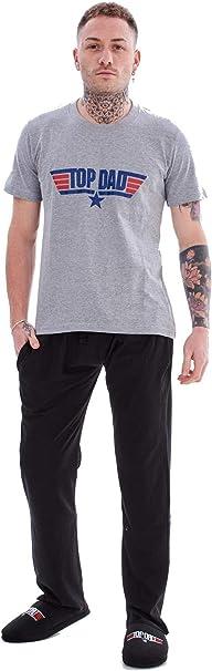 Pijama para hombre, 100% algodón, para papá, regalo novedoso, tallas S, M, L, XL