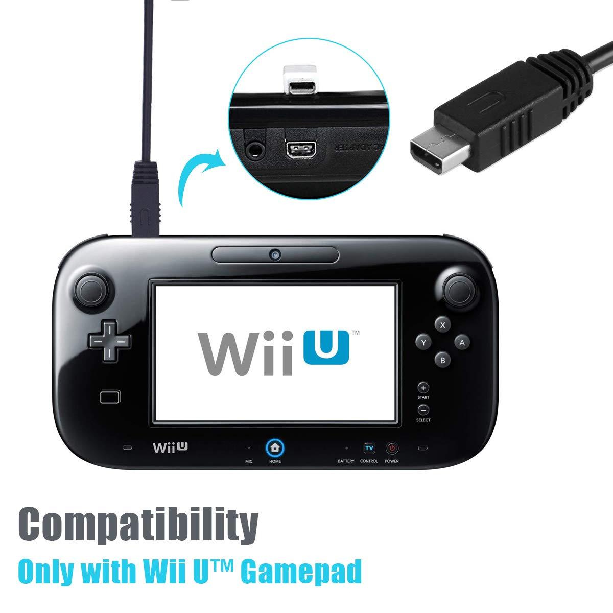 Cable cargador Wii U de 6 amLifestyle 3 m extra largo USB ...