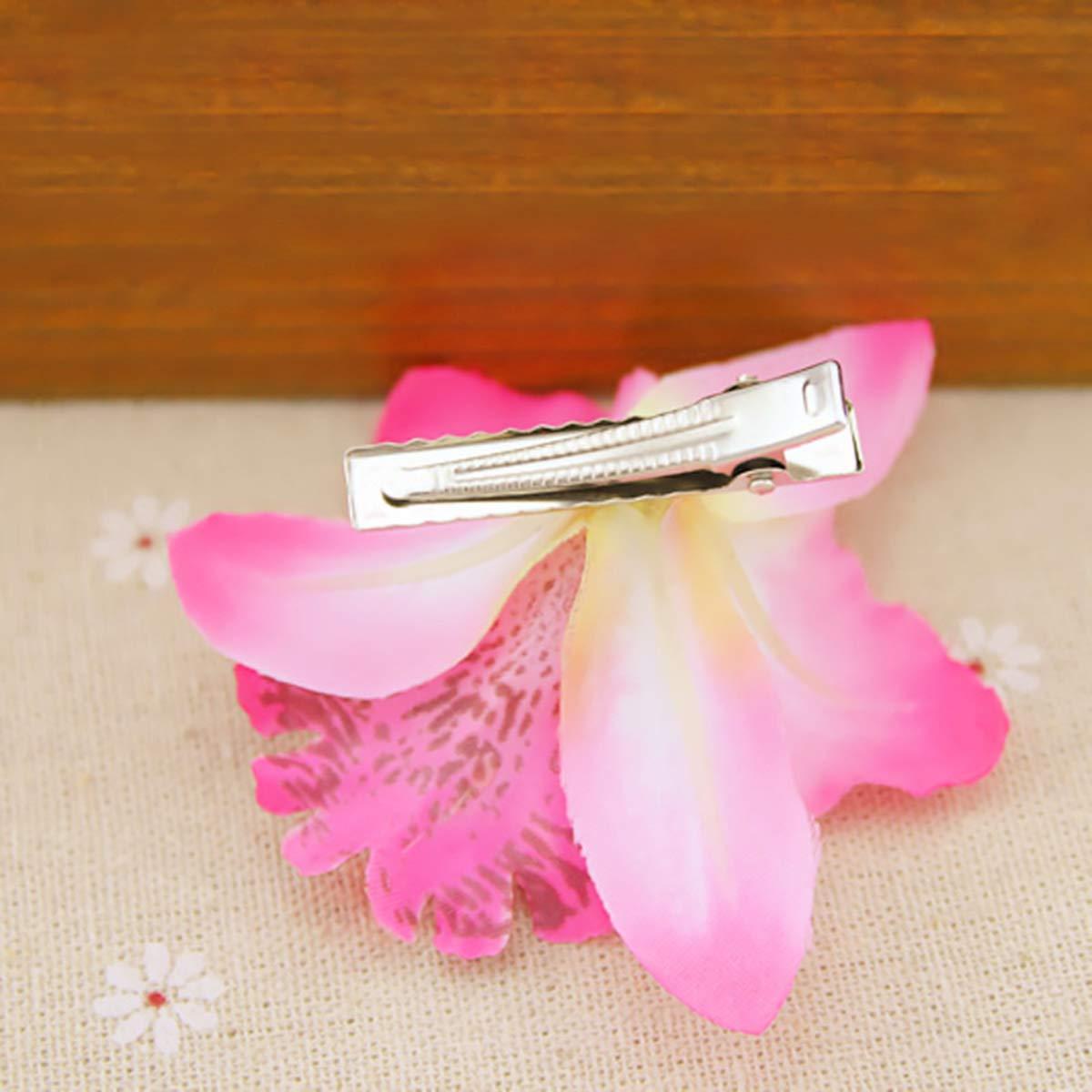 Ruikey les cheveux de pince /à cheveux broche fleur hawa/ïenne mousse accessoire mariage beach decor