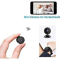 Mini Kamera, [Letzte Version] TODAYI Klein Akku Überwachungskamera Aussen Innen WLAN Handy mit Bewegungserkennung und Speicher Aufzeichnung Mikro WiFi IP Kamera,Nachtsicht Wireless Nanny Cam