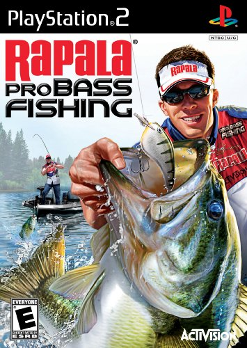 Sc Fishing Rod - Rapala Pro Bass Fishing 2010 - PlayStation 2