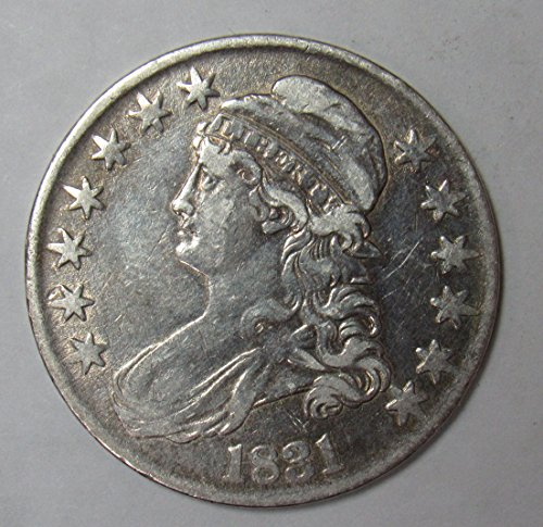 1831 Capped Bust Half Dollar 50c Very Fine-Extremely Fine O-114 R.3