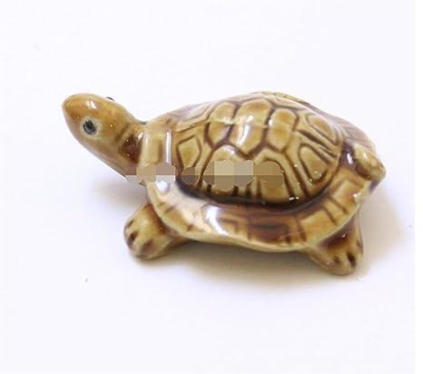 Decoración del tanque de peces Animal del ornamento de la tortuga de la simulación del acuario