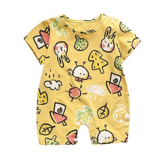 829978fba 🧚 ♀️Monos para BebéS NiñA-Tops Mono De Manga Corta para NiñA Bebé ReciéN  Nacido Mamelucos De ImpresióN De La Luna Romper: Amazon.es: Ropa y  accesorios