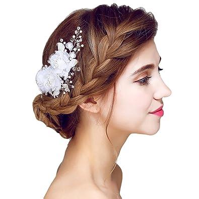 Yazilind Beauty Women S Bridal Wedding Hair Clip Barrette