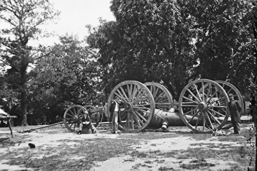 new-4x6-civil-war-photo-sling-cart-fort-darling-at-drewry-bluff-on-james-river