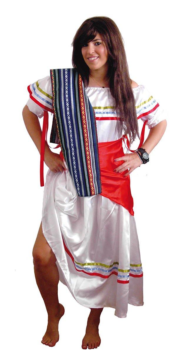 El Carnaval Disfraz mejicana Mujer Adulto: Amazon.es ...