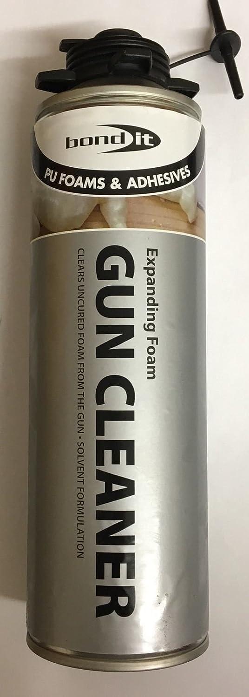 Limpiador para pistolas de espuma de poliuretano expansiva en aerosol. Elimina restos de espuma de poliuretano. 500 ml: Amazon.es: Bricolaje y herramientas