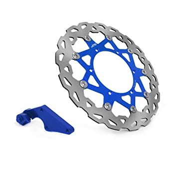 320mm Floating Front Brake Disc Rotor Bracket or For Yamaha YZ250F YZ450F 08-15