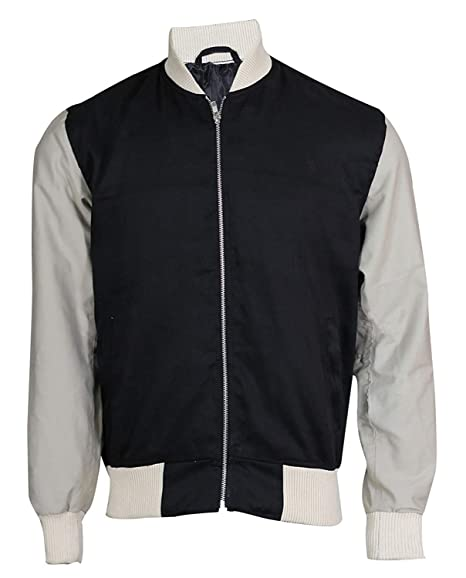 Baby Driver Jacket Ansel Elgort Baseball Varsity Bomber Jacket at Amazon Mens Clothing store: