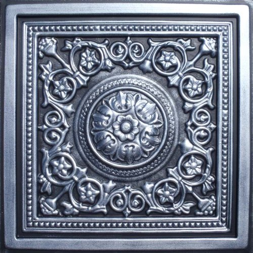 Majesty Antique Silver Black Ceiling