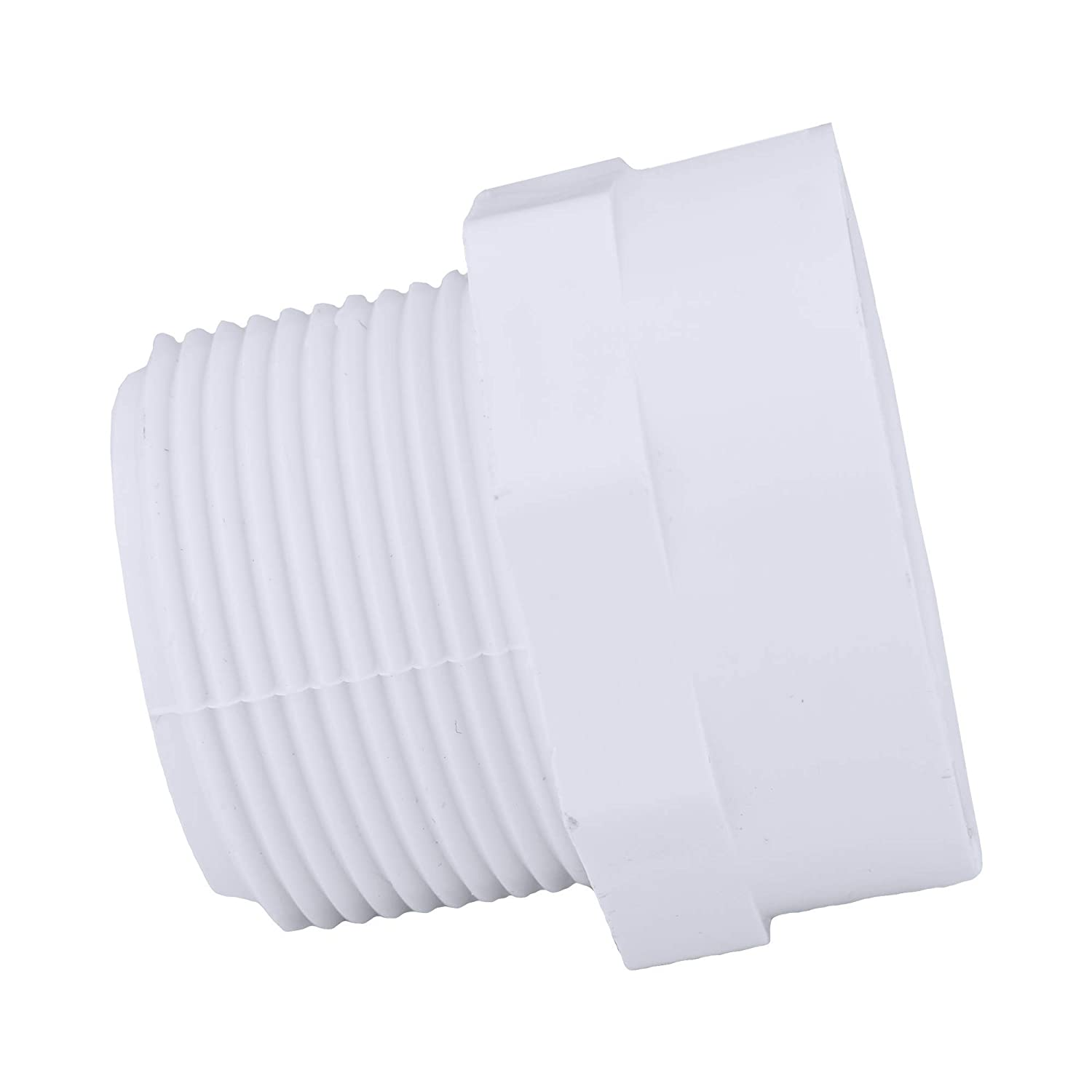 Schedule 40 PVC DWV Durable Drain, Waste and Vent 4000 Unit Pallet High Tensile and Sound Deadening for Home or Industrial Use Easy to Install Charlotte Pipe 1-1//2 Male Adapter Pipe Fitting
