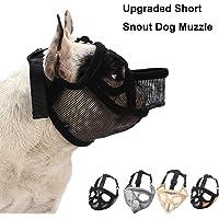 Coppthingktu Dog Muzzles, Adjustable Dog Muzzle, Dog Muzzles for Biting Barking, Soft Comfortable Dog Mouth Cover for…