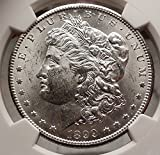 1899 O MORGAN SILVER DOLLAR United States of America USA Coin NGC MS 62 i57736
