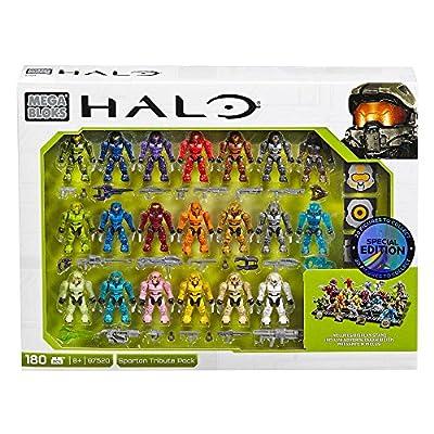 Mega Construx Halo Exclusive Spartan Tribute Set (97520): Toys & Games