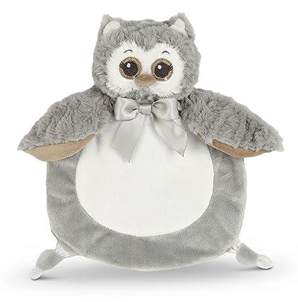Amazon Com Bearington Baby Wee Owlie Small Gray Owl Stuffed Animal