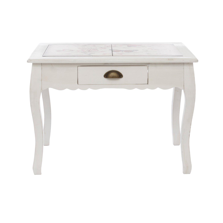 Tavolo in legno con decorazione KASANOVA