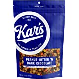 Kar's Nuts Peanut Butter 'N Dark Chocolate Trail Mix Snacks - 12 oz Resealable Pouch (Pack of 6)